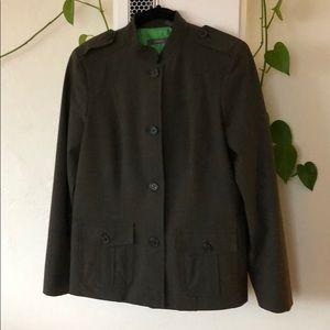 Liz Claiborne military-style blazer